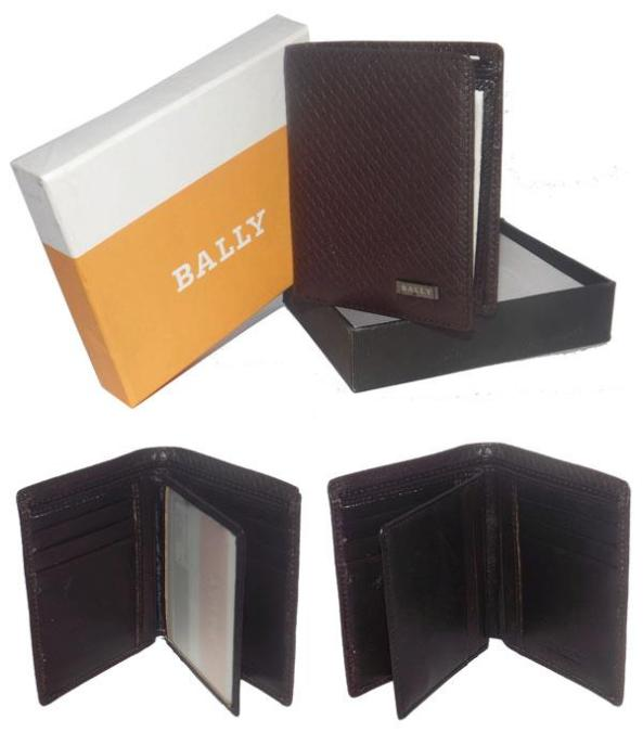 KODE > WAL 96 (Bally - KW 01) Bahan > Kulit Asli Harga > Rp 150.000 Warna > Coffee  Pjg > 11,5cm Lebar > 9,5cm